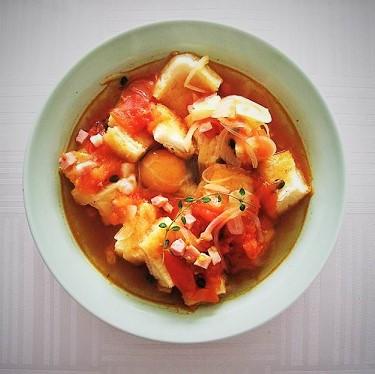 タイムの香りがたまらない!スペイン風スープ